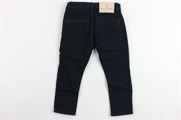 pantalone tasca america tinta unita PEUTEREY | Pantaloni | PTB0861BLU