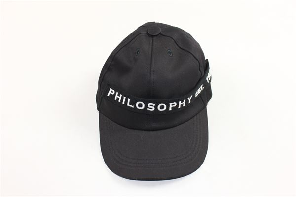 PHILOSOPHY | Hats | PJCP01NERO