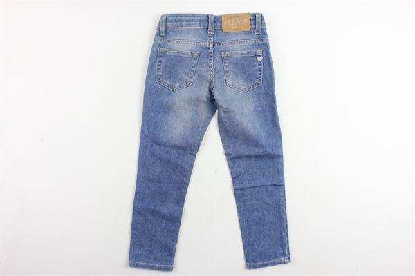 jeans 5 tasche tinta unita PLEASE   Jeans   PH00L04GBLU