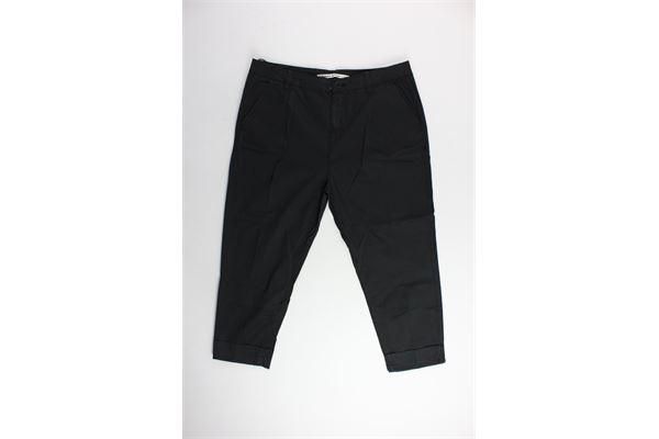pantalone tasca america in tinta unita PREMIER DE PARIS | Pantaloni | 001554NERO