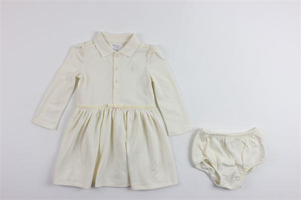 RALPH LAUREN | Dress | 310673204001BIANCO