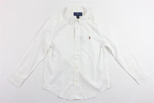 RALPH LAUREN | Shirts | 322690045001BIANCO