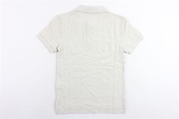 polo mezza manica tinta unita con logo RALPH LAUREN | Polo | 323708857012BEIGE