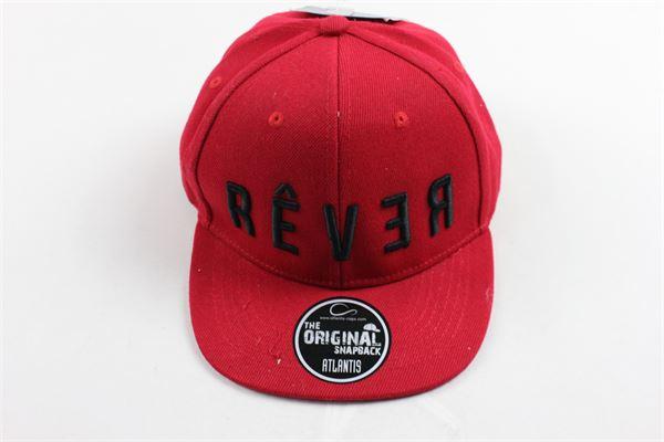 cappello modello berretto con stampa REVER | Cappelli | CAPPELLOREVER1ROSSO