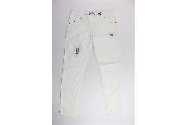 RONNIE KAY | Trousers | RK1109BIANCO