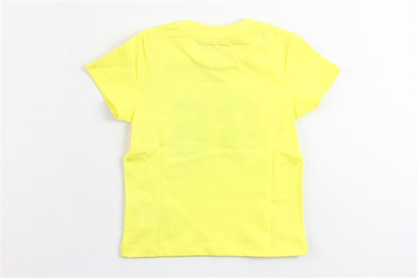 t-shirt con stampa 86 RONNIE KAY | T-shirts | RK1613GIALLO
