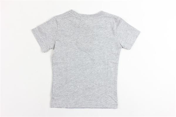 t-shirt mezza manica tinta unita con stampa ROY ROGER'S | T-shirts | T-SHIRTSROYROGER'S4GRIGIO