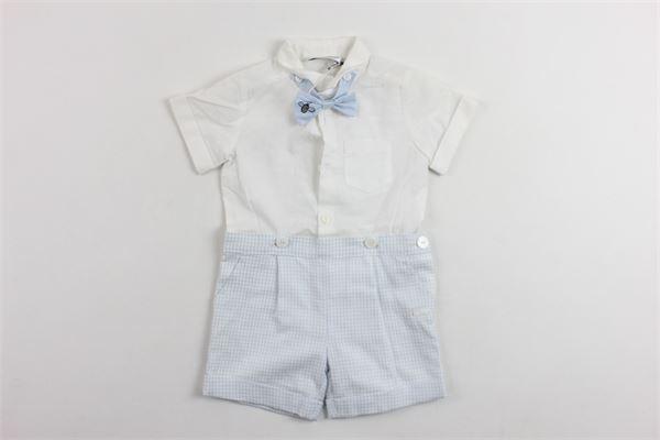 completo camicia più bermuda SIMONETTA | Completi | 6G6559BIANCO