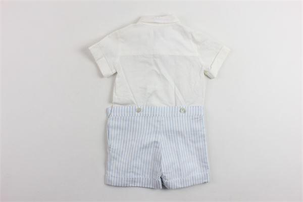 completo camicia più bermuda SIMONETTA | Completi | 6G6559BIANCOX