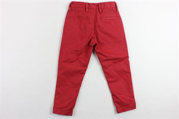 pantalone girovita regolabile tasca america SP1 | Pantaloni | B3101657ROSSO