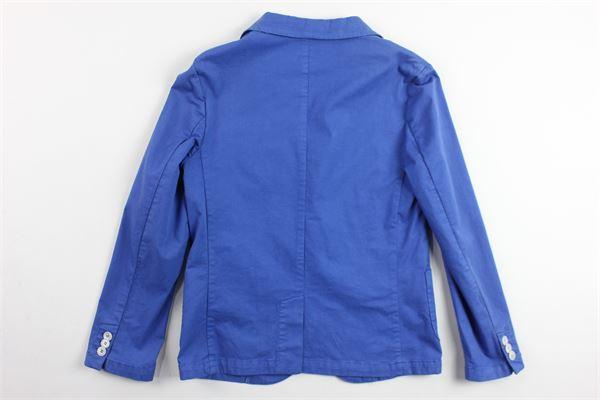 giacca sfoderata in cotone tinta unita SP1 | Giacche | B3300967COBALTO