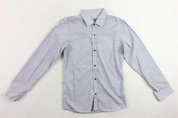 camicia microfantasia m/lunga SP1 | Camicie | B3401157BLU