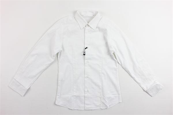 camicia manica lunga tinta unita TAGLIATORE | Camicie | CA22BIANCO