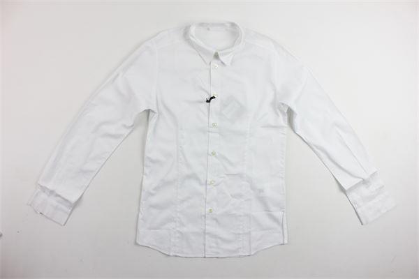 camicia manica lunga tinta unita TAGLIATORE | Camicie | CE126BIANCO