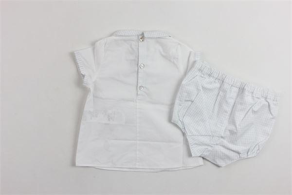 completo camicia più coulotte TARTINE ET CHOCOLAT | Completi | TJ37061BIANCO