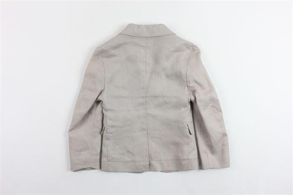 giacca tinta unita 100%in lino TWENTYSIXSEVEN | Giacche | JE18G104BEIGE