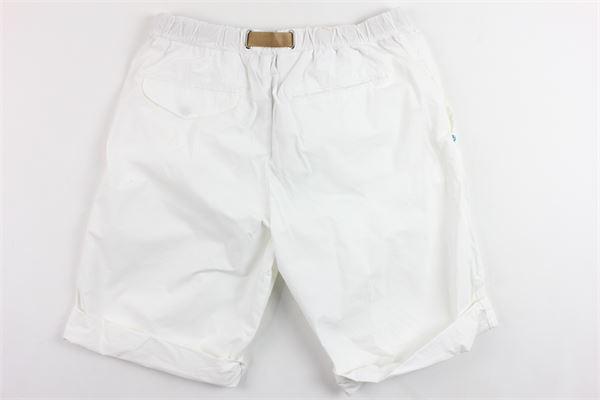 bermuda tinta unita tasca america con cintura WHITE SAND   Bermuda   19Z51BIANCO