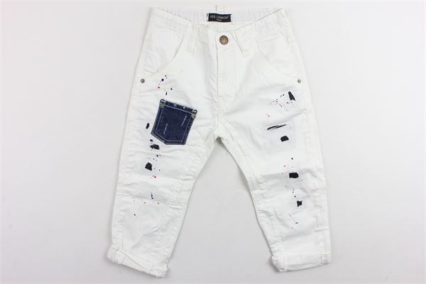 YES LONDON | Trousers | JR3009BIANCO