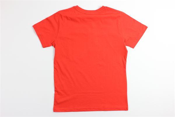t-shirt tinta unita con stampa 4US | T-shirts | TSP2124JROSSO