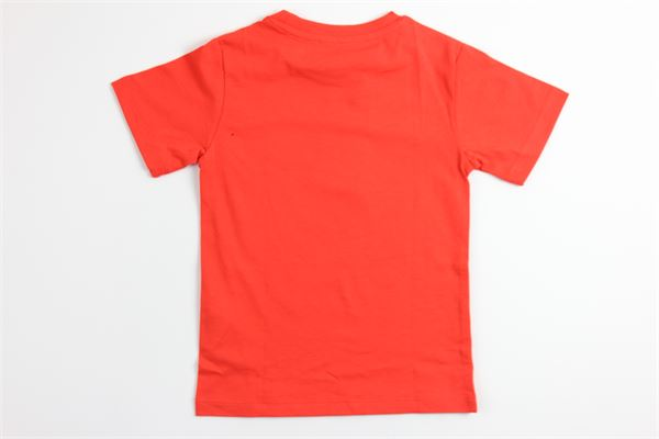 t-shirt tinta unita con stampa 4US | T-shirts | TSP2125BROSSO