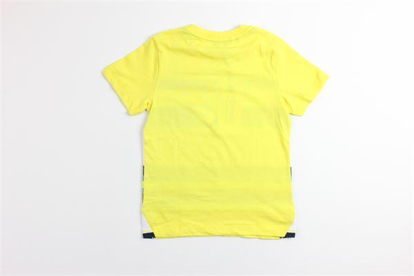 t-shirt tinta unita con stampa 4US | T-shirts | TSP9120JGIALLO