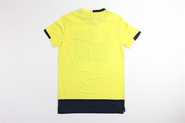 t-shirt tinta unita con stampa 4US | T-shirts | TSP9121GIALLO