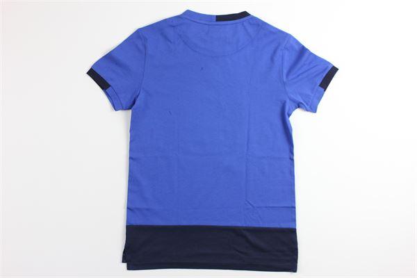 t-shirt tinta unita 100%cotone 4US | T-shirts | TSP9121JBLU
