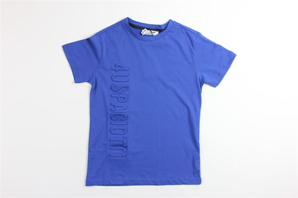 t-shirt tinta unita 100%cotone 4US | T-shirts | TSP9142BCOBALTO