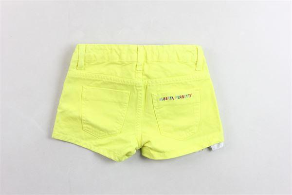 ALBERTA FERRETTI | Shorts | 019296GIALLO