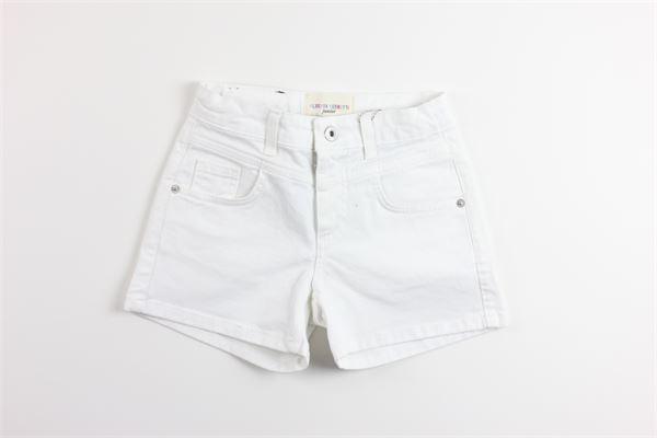 short in denim tinta unita 5 tasche ALBERTA FERRETTI | Shorts | 022150BIANCO