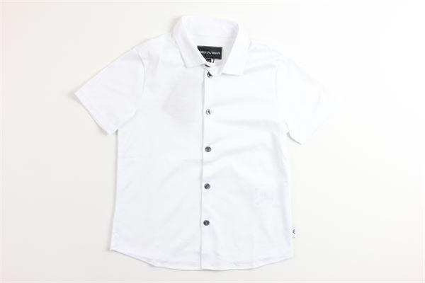 EMPORIO ARMANI | Shirts | 3G4CH5BIANCO