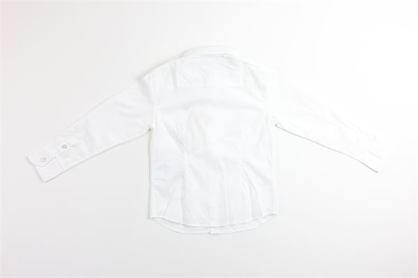 camicia manica lunga tinta unita ARMANI BABY | Camicie | 3YHC11BIANCO