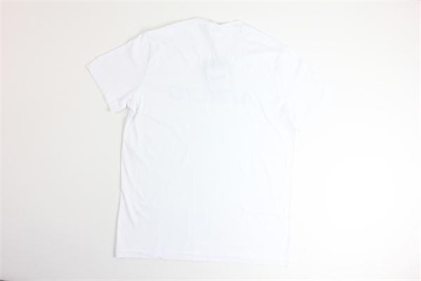 t-shirt mezza manica tinta unita con stampa ASPESI | T-shirts | AY24BIANCO