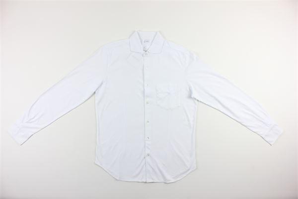 camicia manica lunga tinta unita ASPESI | Camicie | AY33BIANCO