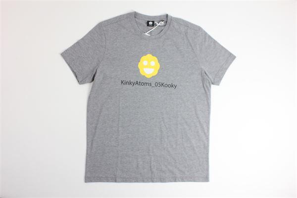 t-shirt mezza manica tinta unita con stampa ASPESI | T-shirts | FY10GRIGIO