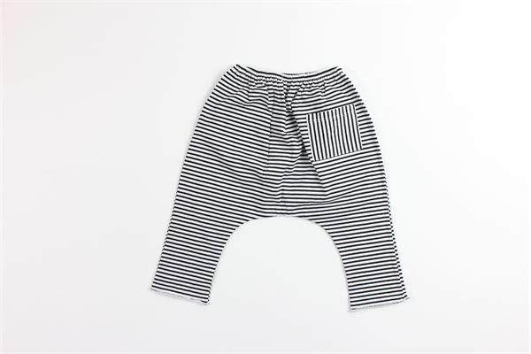 AVENTIQUATTRORE | Trousers | A240152BIANCO/NERO