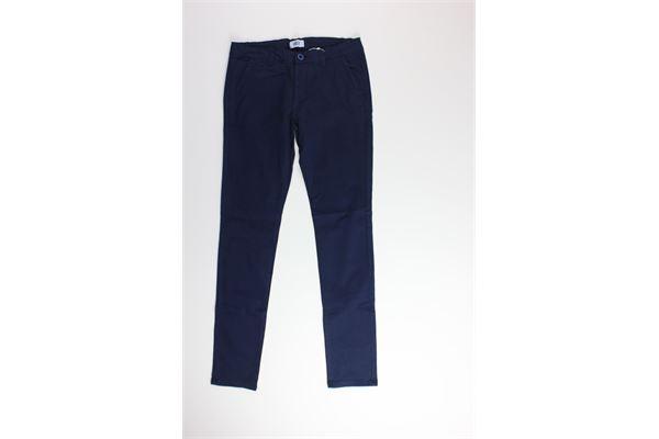 pantalone con girovita regolabile tinta unita AYGEY | Pantaloni | KJJS8344PABLU