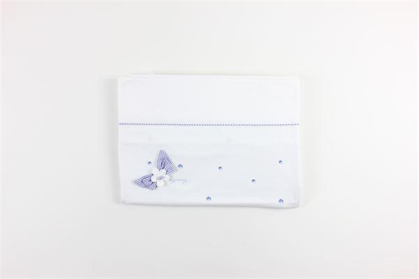 coperta tinta unita con applicazioni BARCELLINO | Coperte | 001788BIANCO
