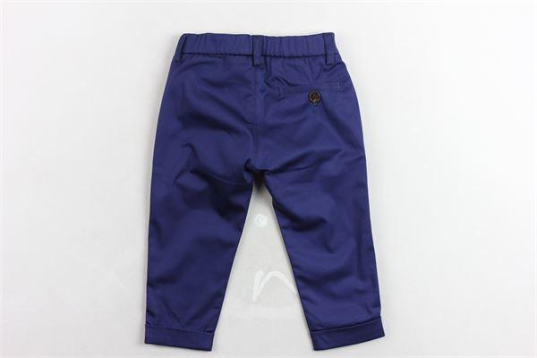 pantalone tinta unita elastico in vita tasca americana BERWICH | Jeans | WMPA05BLU