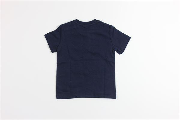 t-shirt mezza manica tinta unita con stampa BIRBA | T-shirts | 899841680075FBLU