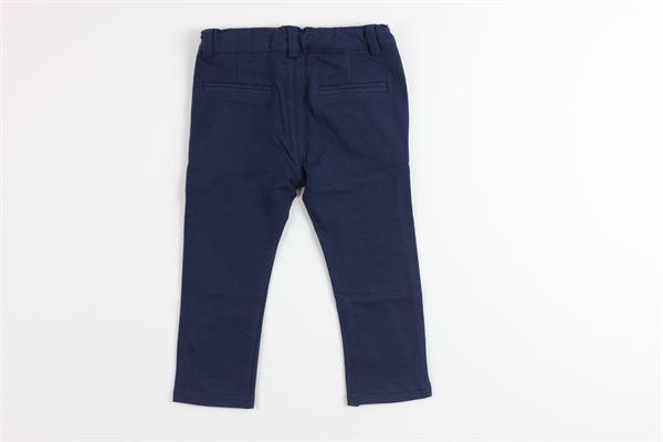 pantalone tinta unita con girovita regolabile BIRBA | Pantaloni | 999620140075BBLU
