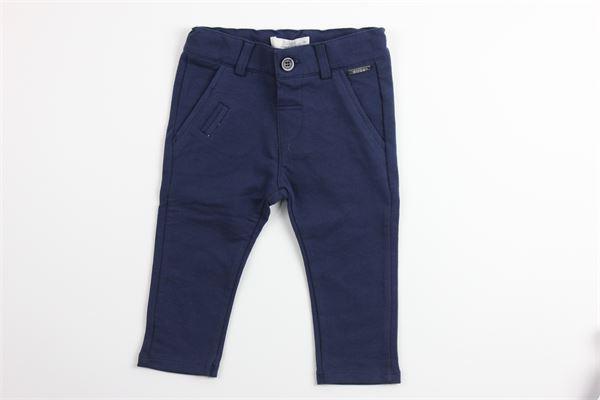 pantalone tinta unita con girovita regolabile BIRBA | Pantaloni | 999720190070B18MBLU