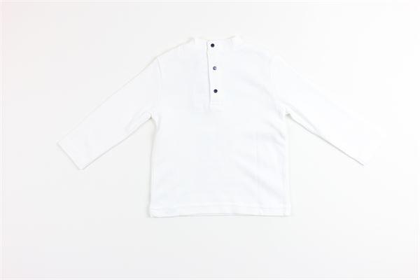 shirt tinta unita con stampa BIRBA | Shirts | 999740110010EBIANCO