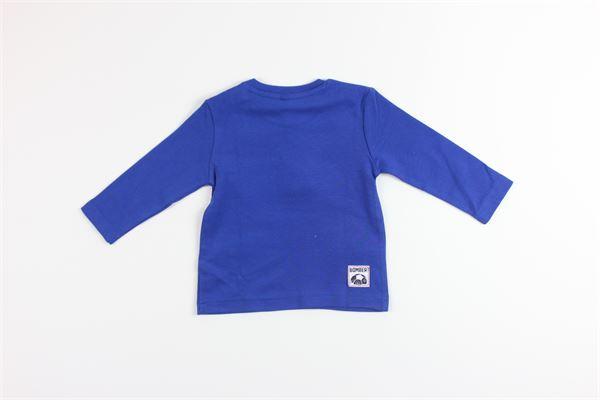 shirt tinta unita con stampa BIRBA | Shirts | 999740140070EBLU