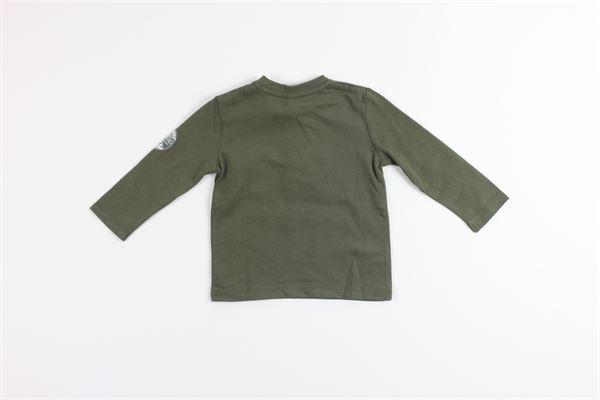 shirt tinta unita con stampa BIRBA | Shirts | 999740210020RVERDE MILITARE