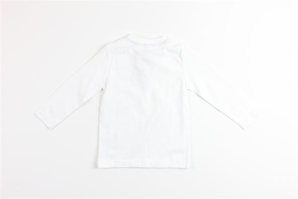 shirt tinta unita con stampa BIRBA | Shirts | 999740250010EBIANCO