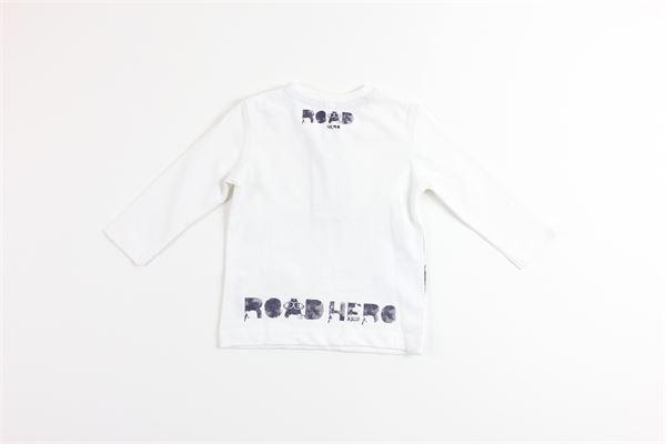 shirt tinta unita con stampa BIRBA | Shirts | 999740320010EBIANCO