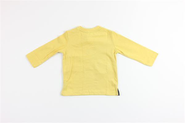 shirt tinta unita con stampa BIRBA | Shirts | 999740360030BGIALLO