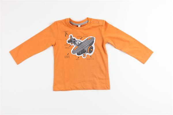 shirt tinta unita con stampa BIRBA | Shirts | 999740400030N18MARANCIONE