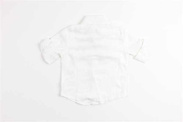 camicia mezza manica tinta unita con stampa BIRBA | Camicie | 999800100010EBIANCO